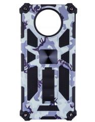 Чохол Shockproof Camouflage для Xiaomi Poco X3 / Poco X3 Pro (білий)