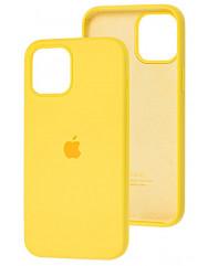 Чохол Silicone Case Iphone 12 Pro Max (жовтий)