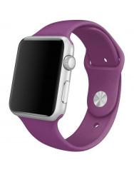 Ремінець силіконовий для Apple Watch 38/40mm (фіолетовий)