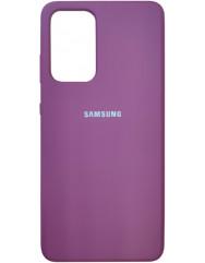 Чохол Silicone Case Samsung Galaxy A52 (фіолетовий)