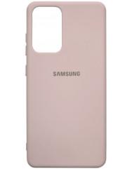 Чохол Silicone Case Samsung Galaxy A72 (бежевий)