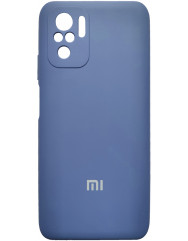 Чoхол Silicone Case Xiaomi Redmi Note 10/ Note 10S (темно-синій)