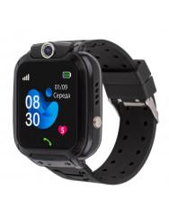 Дитячий розумний годинник AmiGo GO007 FLEXI GPS (Black)