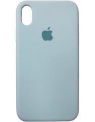 Чохол Silicone Case iPhone XR (м'ятний)