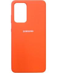 Чохол Silicone Case Samsung Galaxy A52 (оранжевий)
