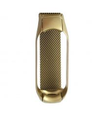 Ремінець для Xiaomi Band 5 Metal Magnit (Gold)