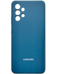 Чохол Silicone Case Samsung Galaxy A32 (синій)