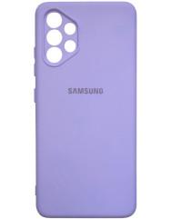 Чохол Silicone Case Samsung Galaxy A32 (лавандовий)