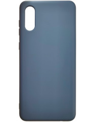 Чохол Silicone Case Samsung A02 (синій)
