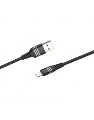 Кабель Hoco DU46 Charging USB to Lightning (чорний)