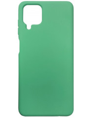 Чохол Silicone Case Samsung A12 (зелений)