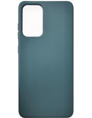 Чохол Silicone Case Samsung Galaxy A52 (темно-зелений)