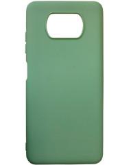 Чехол Candy Xiaomi Poco X3 NFC (фисташковый)