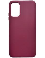 Чохол Silicone Case Poco M3/Redmi 9T (бордовий)