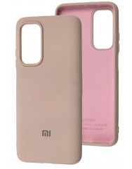 Чохол Silicone Case Xiaomi Mi 10T / Mi 10T Pro (бежевий)