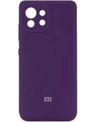 Чохол Silicone Case Xiaomi Mi 11 Lite (фіолетовий)