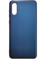 Чохол Silicone Case Samsung A02 (темно-синій)