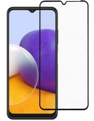 Скло Samsung Galaxy A22 (5D Black)