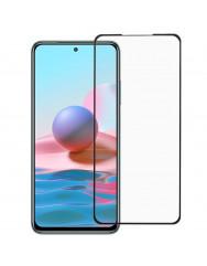 Скло броньоване Xiaomi Redmi Note 10s (5D Black)