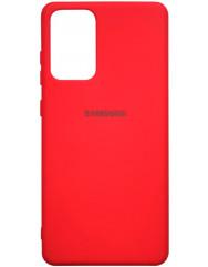 Чохол Silicone Case Samsung Galaxy A72 (червоний)