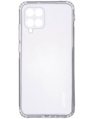 Чохол силіконовий Getman Samsung Galaxy A12 (прозорий)