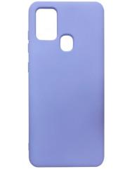 Чохол Silicone Case Samsung Galaxy A21s (лавандовий)