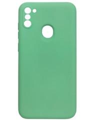 Чохол Silicone Case Samsung Galaxy A11 / M11 (салатовий)