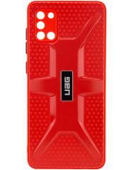 Чохол TPU+PC UAG Samsung Galaxy A31 (червоний)